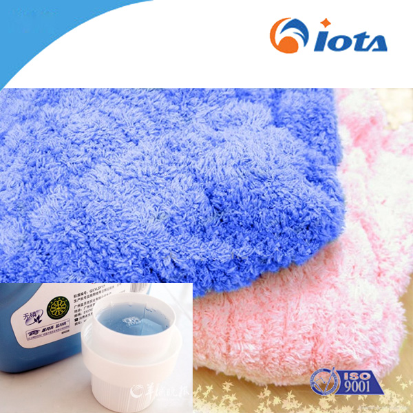 Smooth and soft silicone oil for cotton IOTA 817
