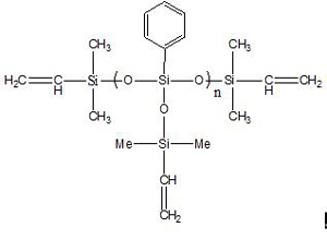 Vinyl terminated T-type phenylpolysiloxane IOTA-253