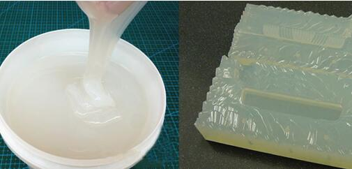 High transparency mold making silicone rubber